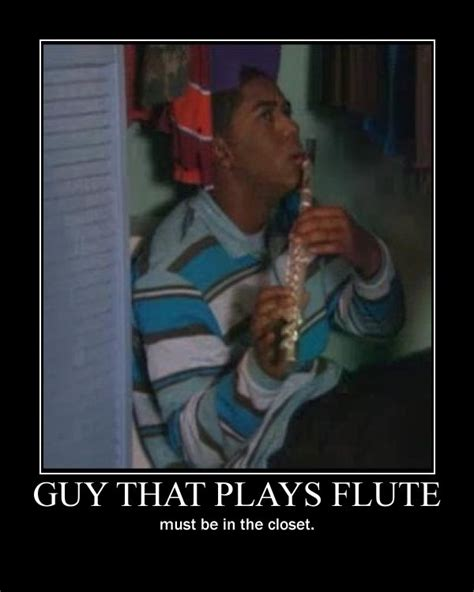 Flute Player Meme - marching band memes
