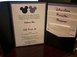 81 best images about wedding invitations on pinterest With homemade disney wedding invitations