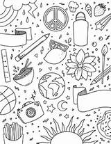 Binder Coloring Sheet Subject Arts sketch template