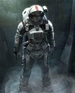 Cool Futuristic Astronaut Space Suit Design — GeekTyrant