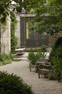 Terrasse Mit Kies : 56 ideen f r gartengestaltung mit kies ~ Markanthonyermac.com Haus und Dekorationen