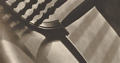 paul strand chair abstract twin lakes connecticut  sfmoma