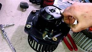 Blower Motor Replacement Chevrolet Pickup 2007 Gmc Install