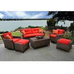 metro deep seating outdoor patio furniture set 6 pc