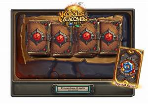 Hearthstone Top Decks Kobolds And Catacombs Pre Purchase