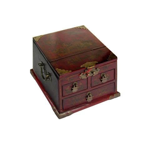 boite a bijoux miroir boite 224 bijoux coiffeuse avec miroir magasin du meuble asiatique et chinois