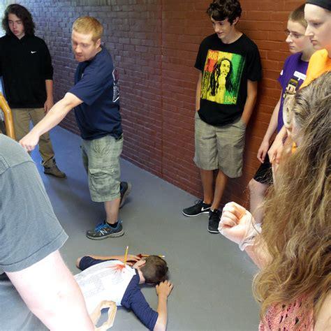 Forensics Class Gets Realistic - ConVal Regional High School