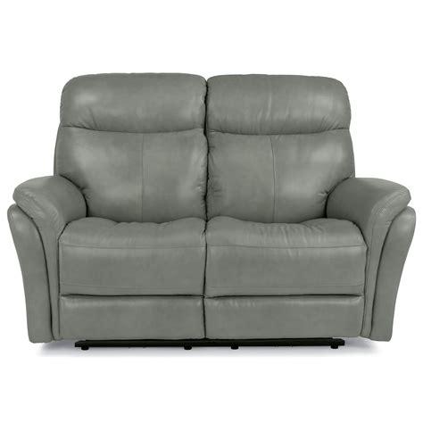 power reclining sofa with usb ports flexsteel latitudes zoey power reclining loveseat with usb