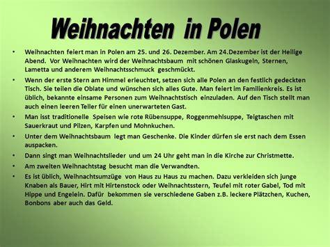 Weihnachten In Polen polnische feste br 228 uche jahrestraditionen im allgemeinen