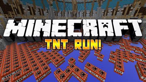 minecraft mini game tnt run  wbodil bashur