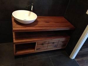 comment fabriquer un meuble vasque avec collection avec With plan de travail salle de bain avec vasque