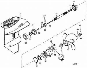Mercury Marine 8 Hp  2 Cylinder   International  Gear