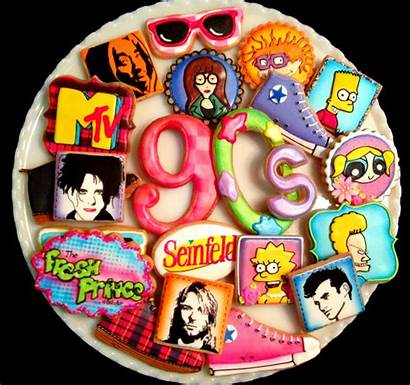 90s 90 Themed Birthday Cookies Parties Party
