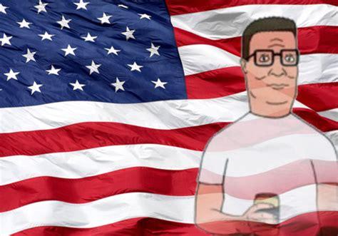 great american man  hank hill  ron swanson ign