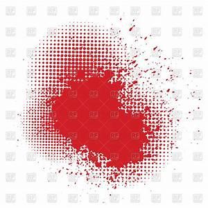 Stylized bloody splatters Vector Image #63533 – RFclipart