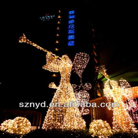 outdoor lighted christmas angels christmas angels  led