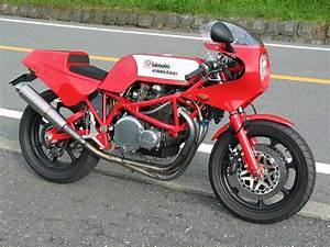 Racing Caf U00e8  Bimota Kb1 By Bright Logic