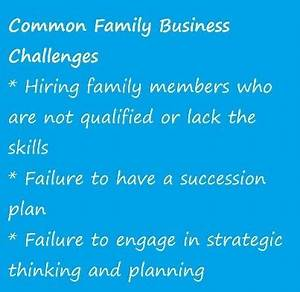 Common Family Business Challenges | Quotes | Pinterest