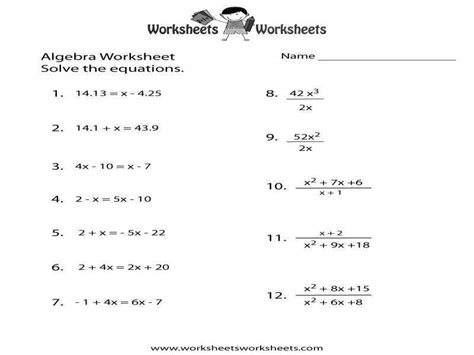 Derivative Worksheet Homeschooldressagecom