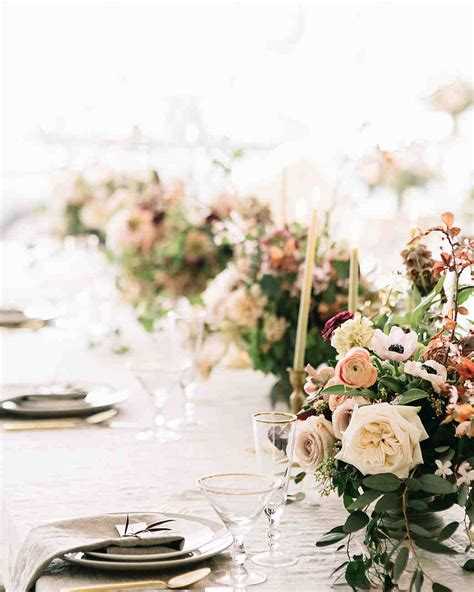 romantic wedding flowers martha stewart weddings
