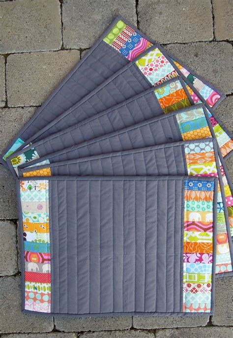 quilted placemats patterns 39 best quilted placemats images on table