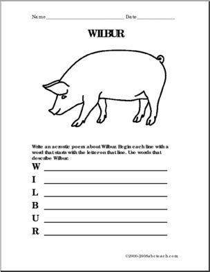 17 Best Images About Homeschool Ela Charlotte's Web On Pinterest  Graphic Organizers, List Of