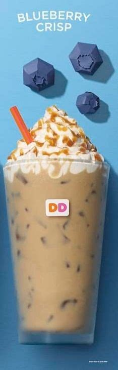 There are 130 calories in 1 serving (16 oz) of dunkin' donuts blueberry pomegranate refresher (medium). Dunkin Donuts Blueberry Crisp Iced Coffee Nutrition Facts ...