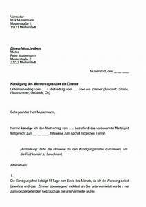 Kündigungsschreiben Wohnung Mieter : k ndigung mietvertrag muster k ndigung vorlage ~ Lizthompson.info Haus und Dekorationen