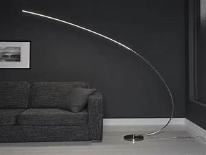 Led Stehlampe Dimmbar : ema bogen stehlampe dimmbar xl led 18w ~ Yasmunasinghe.com Haus und Dekorationen