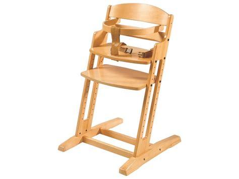 chaise haute 201 volutive en bois wesco pro