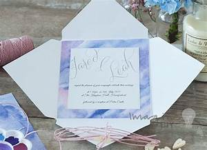 watercolours paper imagine diy designer wedding stationery With patterned paper for wedding invitations uk
