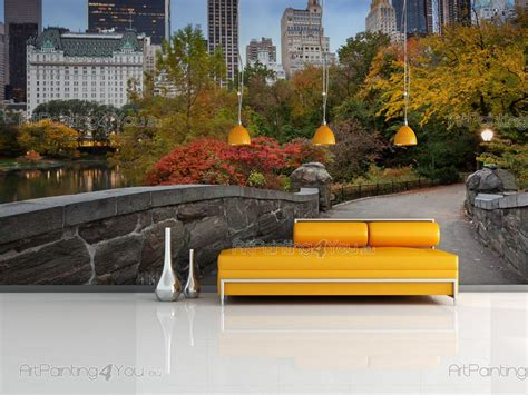 wall murals cities canvas prints posters central park
