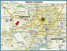 Chantilly Virginia Map - TravelsFinders.Com