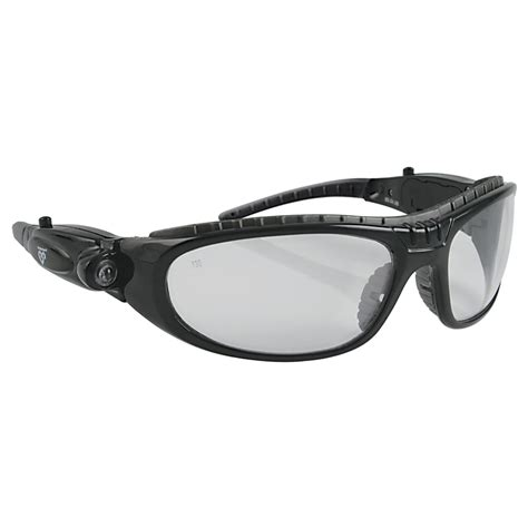 safety glasses with led lights protector led headlight clear lens safety glasses