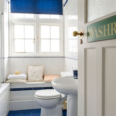 Bathroom Ideas Blue And White by Blue And White Coastal Bathroom Bathroom Decorating