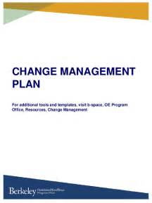 Project Change Management Plan