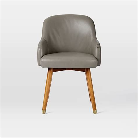 west elm saddle chair saddle office chair leather west elm