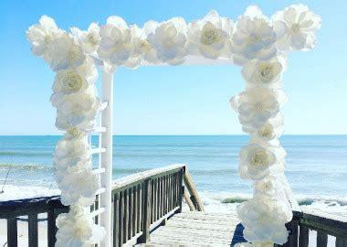 brevard wedding  event decoration silk flowers