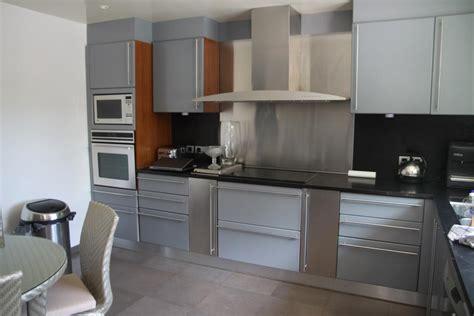 photo cuisine grise déco cuisine moderne grise