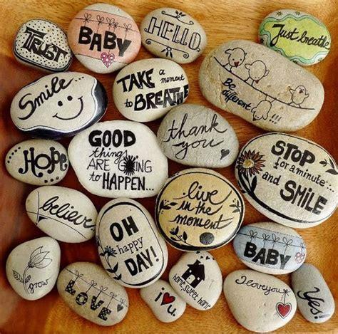 manualidades pintar y decorar piedras a mano consejos