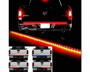 Waterproof 60 U0026quot  Tailgate Led Strip Bar Truck Reverse Brake