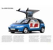 1989 VW Futura Concept Brochure