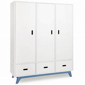 Kleiderschrank 3 Türig Weiß : mimm kleiderschrank 3 t rig wei kinderzimmerhaus ~ Indierocktalk.com Haus und Dekorationen