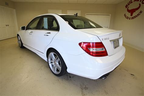 It has an automatic transmission. 2013 Mercedes-Benz C-Class C300 Sport 4MATIC LOADED ...