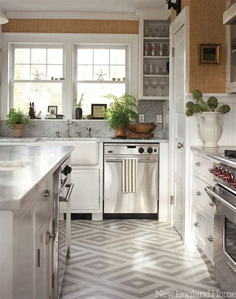 When picking your floor color, you can choose between light, dark, or bold varieties. 15 Flooring ideas for kitchen that will impress you