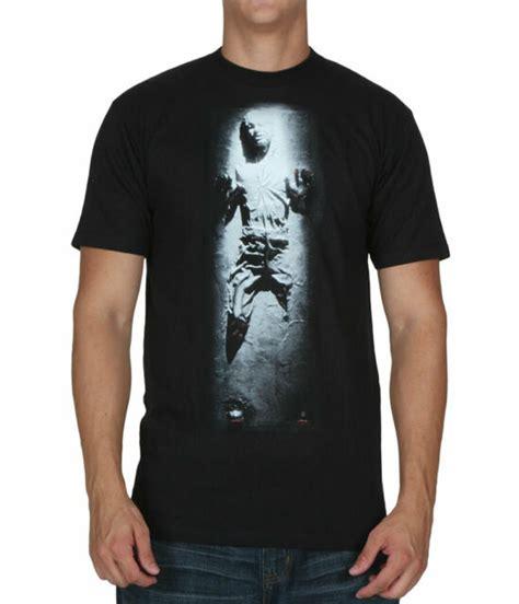 Star Wars Han Solo Carbonite T-Shirt | eBay