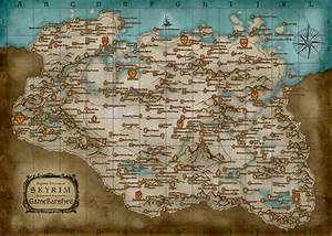 Map (Skyrim)/Locations | Elder Scrolls | FANDOM powered by ...