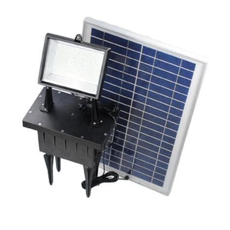 solar powered flood lights 156 led outdoor rechargeable solar powered exterior ground