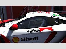 Mclaren MP412C GT3 Marlboro Mclaren Honda Skin Ayrton