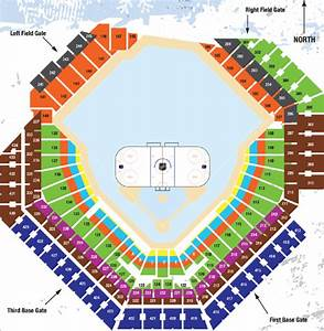 Citizens Bank Arena Seating Chart With Seat Numbers